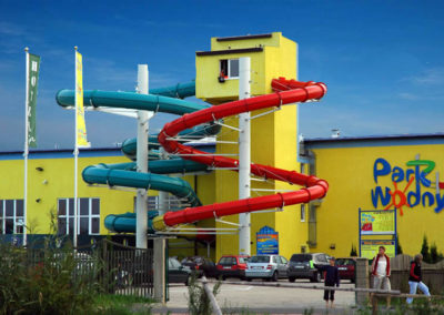 Aquapark w Darłówku.