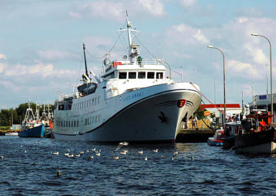 Wycieczkowe rejsy na Bornholm.