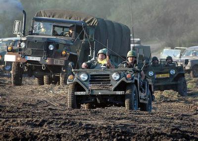 Zlot pojazdów wojskowych w Darłówku.